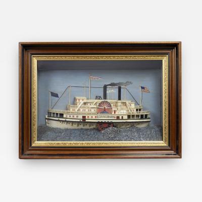 SHIP DIORAMA DEAN RICHMOND