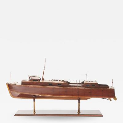 SHIP MODEL 45 VOSPER MOTOR BOAT