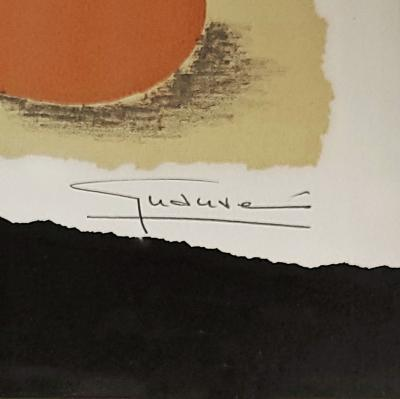SIGNED AND NUMBERED ABSTRACT STILL LIFE SERIGRAPH 27 260