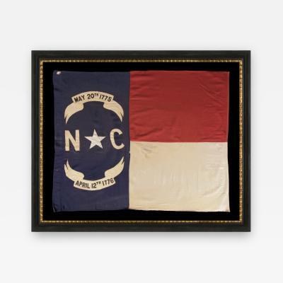 STATE FLAG OF NORTH CAROLINA CA 1900 WWI ERA U S INVOLVEMENT 1917 18