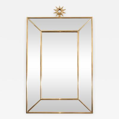SUNBURST ORNAMENTED MIRROR