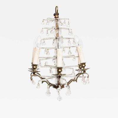 SWEDISH CRYSTAL CHANDELIER