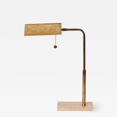 SWIVELLING BRASS DESK LAMP