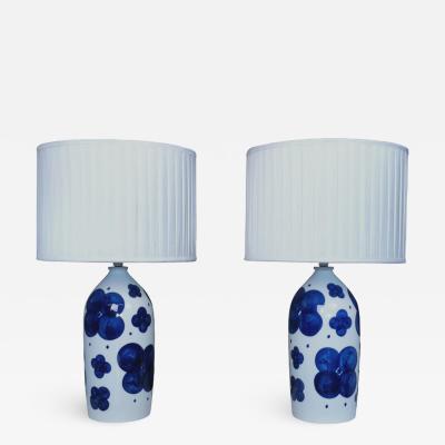 SYLVIA LEUCHOVIOUS Table Lamps 1960s