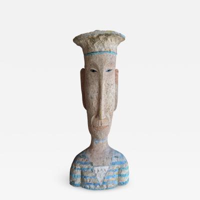 Sailor Ceramic Sculpture by Peter Vandenberge