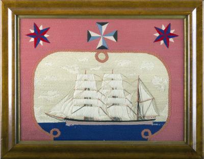 Sailors Woolwork of a Merchant Navy Ship