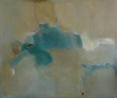 Sally Chiu Large Abstract Painting Entitled Destiny by Sally Chiu b 1944