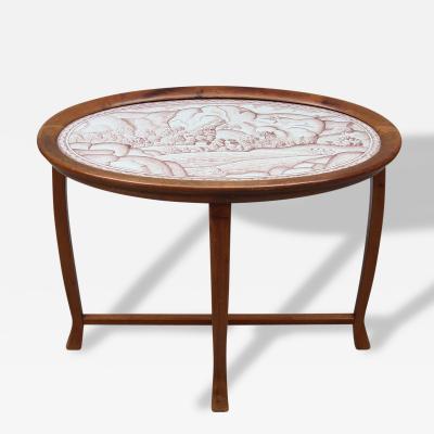 Salon Table by Nordiska Kompaniet Sweden Circa 1918