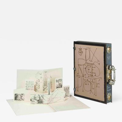Salvador Dal Salvador Dali Dix Recettes d Immortalite Original Signed Artworks