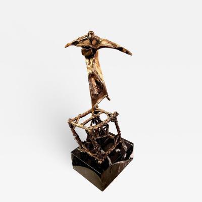 Salvador Dal Salvador Dali Flying Original Bronze Sculpture