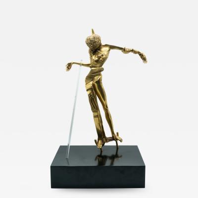 Salvador Dal Venus a La Tete De Roses Bonze Sculpture by Dali