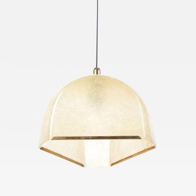 Salvatore Gregorietti Pair of Pendant Lamps Tricia From Fiberglass By Salvatore Gregorietti 1960