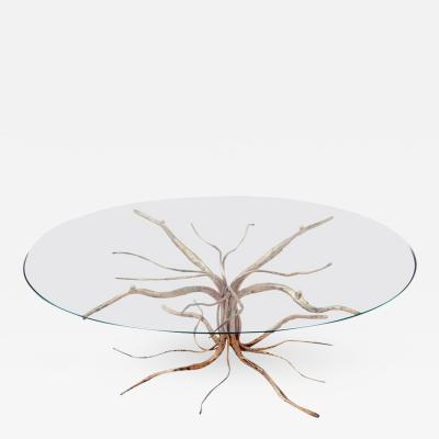 Salvino Marsura Bronze Coffee Table by Salvino Marsura 1950s