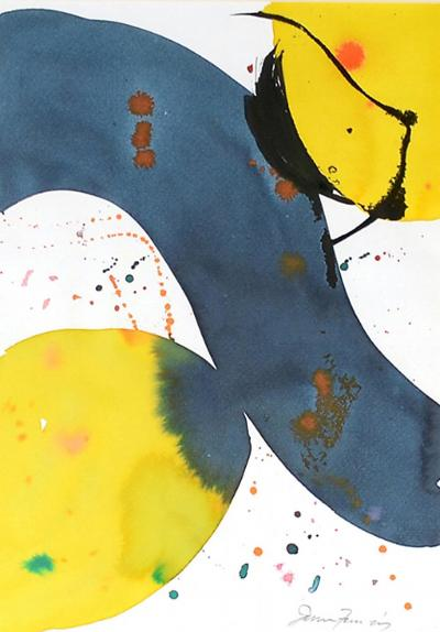 Sam Francis Abstract Figures