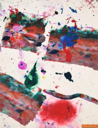 Sam Francis Sam Francis Painting SF80 1191 Original Work