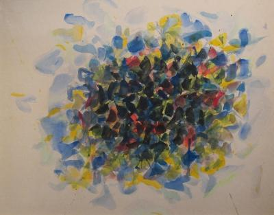 Sam Francis Untitled 1953 SF53 117