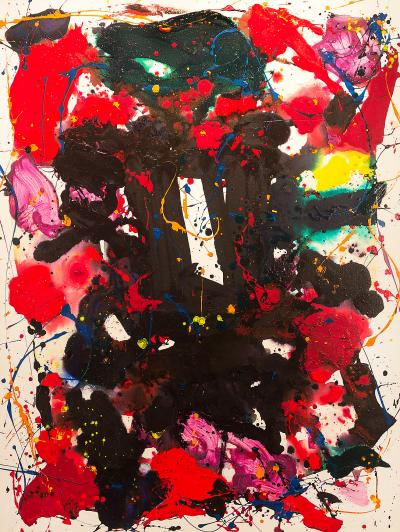 Sam Francis Untitled 1980
