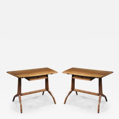 Sam Maloof 2 Early Consoles Servers Desks by Sam Maloof 1961