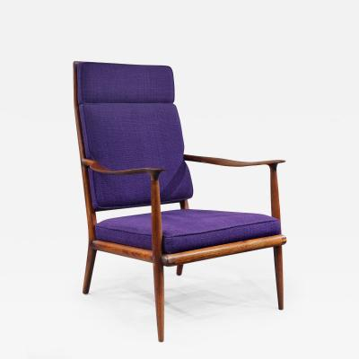 Sam Maloof Early Classic Armchair by Sam Maloof 1957