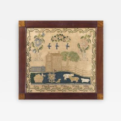 Sampler by Ann Margarett Miller Philadelphia area PA 1830