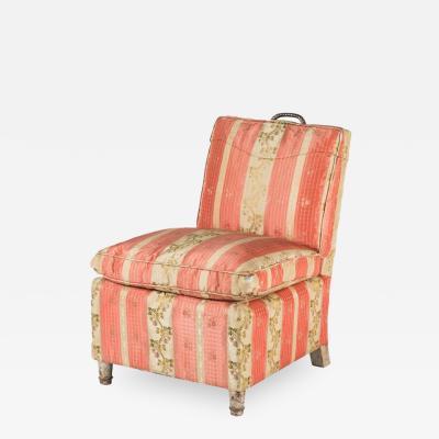 Samuel A Marx All Original Sliper Chair by Samuel Marx