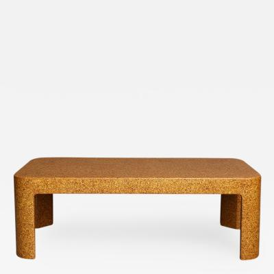 Samuel A Marx Cork Low Table by Samuel Marx