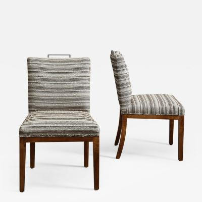 Samuel A Marx Pair of Chairs