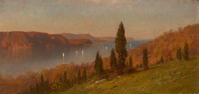 Samuel Colman View of the Hudson