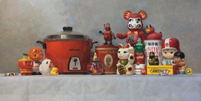 Samuel Hung Study for Family of Trinkets 2