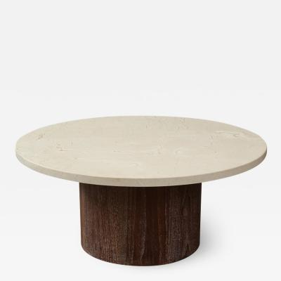 Samuel Marx Marble Low Table by Samuel Marx