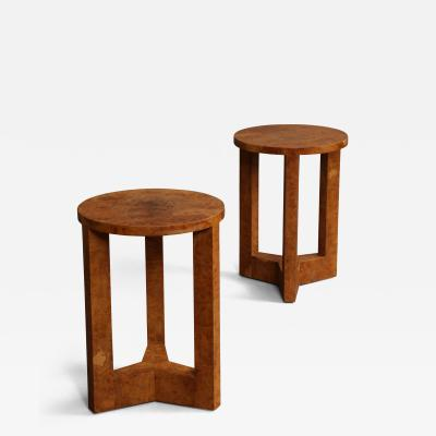 Samuel Marx Occasional Tables