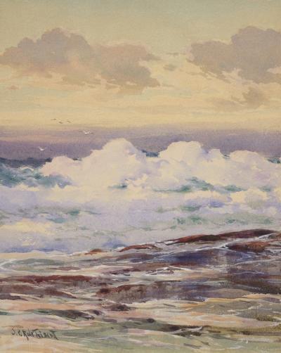 Samuel Peter Rolt Triscott Rolling Seas Monhegan