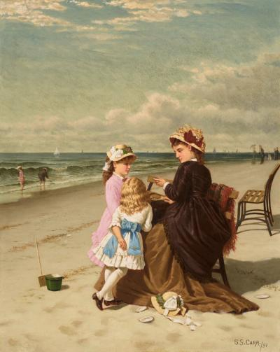 Samuel S Carr By The Seaside