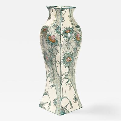Samuel Schellink Dutch Jugendstil Vase by Samuel Schellink for Rozenburg
