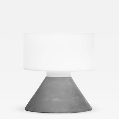 Samuli Naamanka Samuli Naamanka Concrete Table Lamp for Innolux Oy in Concrete Gray