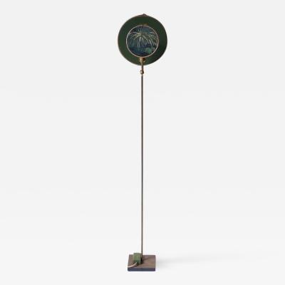 Sander Bottinga Circle Blue Grey Floor Lamp by Sander Bottinga
