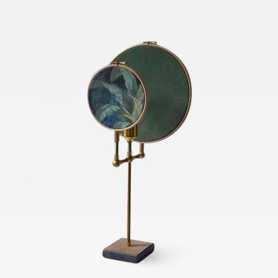 Sander Bottinga Circle Blue Grey Table Lamp Sander Bottinga