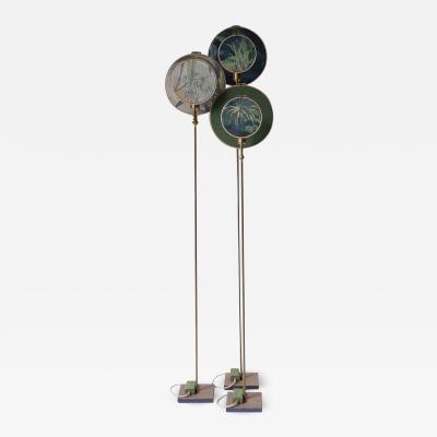 Sander Bottinga Ensemble of Three Floor Lamps Sander Bottinga