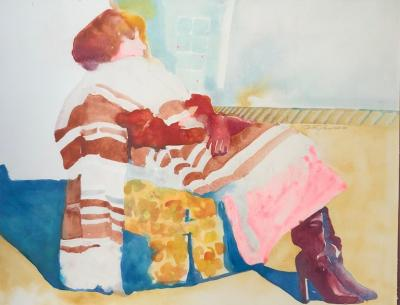 Sandra Jones Campbell Woman In The Chair