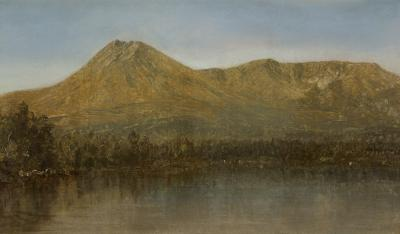 Sanford Robinson Gifford Mount Katahdin Maine