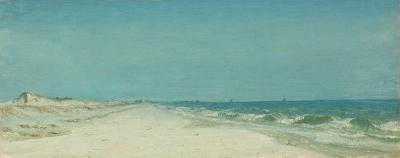 Sanford Robinson Gifford On the Long Island Coast