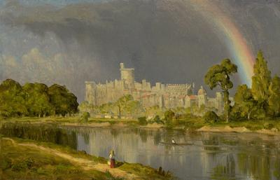 Sanford Robinson Gifford Study of Windsor Castle