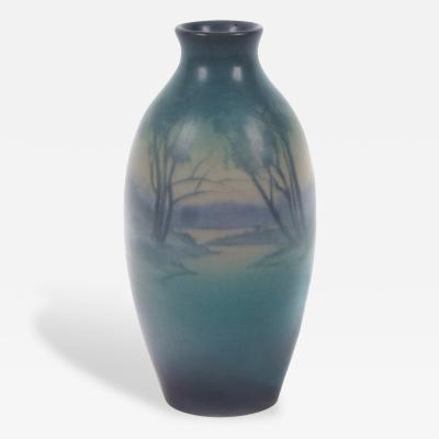 Sarah Elizabeth Coyne Rookwood Vellum Series Ceramic Vase by Sarah Elizabeth Coyne 1921