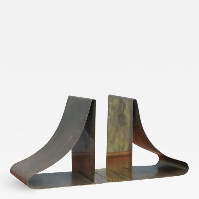 Sarried Ltd Large Brass Bookends