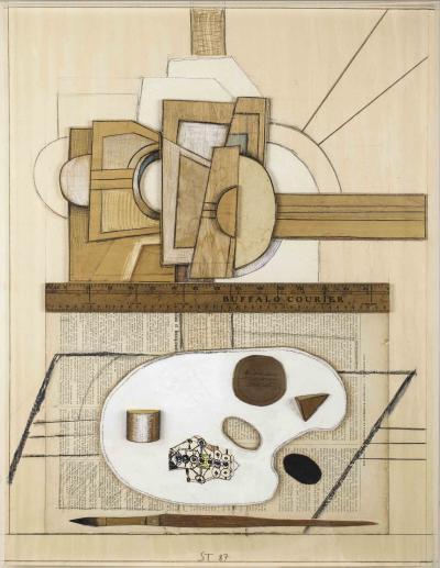 Saul Steinberg Easel Palette