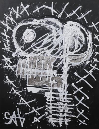 Sax Berlin Black Skull