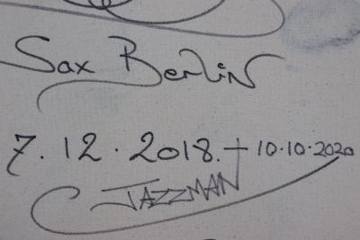 Sax Berlin Jazz Man