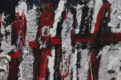 Sax Berlin Red Skull