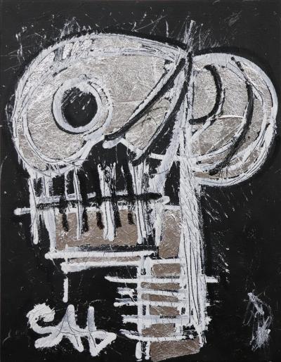 Sax Berlin Silver Skull