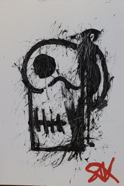 Sax Berlin Skull